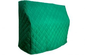 Bottle Green Upright Piano Cover