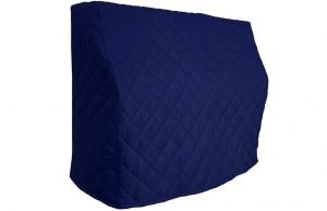 Navy Blue Upright Piano Cover