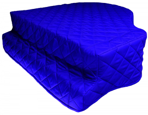 Royal Blue Grand Piano Cover