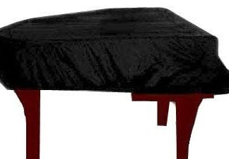 """Steinway Model D 8'10"""" (lid length) Concert Grand Piano Cover - LightGuard - Piano Covers Direct"""