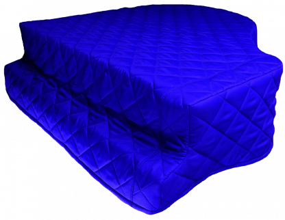 """Bluthner Model V 5'8"""" Grand Piano Cover - PremierGuard - Piano Covers Direct"""